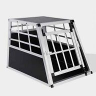 Small Single Door Dog cage 65a 60cm 06-0766 Aluminum Dog cage: Pet Products, Dog Goods Dog Cage